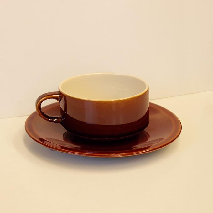ビレロイ&ボッホのカップ&ソーサー ビンテージ