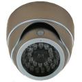 【DC-007SL】人感センサー白色LED搭載 明るさセンサー内蔵ドーム型ダミーカメラ 単3電池使用 天井取付タイプ マザーツール