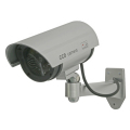 【DC-027IR】防滴仕様 CDSセンサー搭載 本格派ダミーカメラ 単3電池使用 直接雨のかからない軒下への設置可能!マザーツール