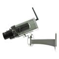 【DC-034PT】動体検知型 ワイヤレスカメラ型ダミーカメラ 動体を検知するとLEDが点滅し左右に旋回!マザーツール