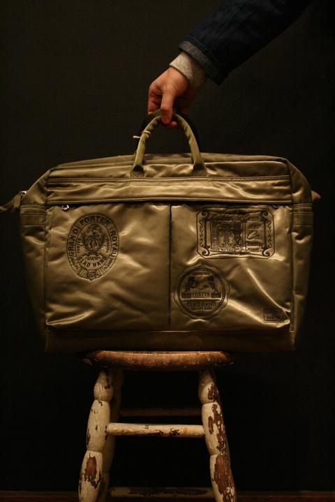 PORTER×GLAD HAND/ポーター×グラッドハンド  「GH - FADE BOSTON BAG」  ナイロンボストンバッグ