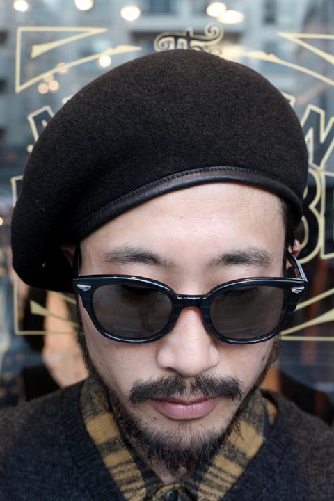 TROPHY CLOTHING/トロフィークロージング  「Wool Basque」  ベレー帽