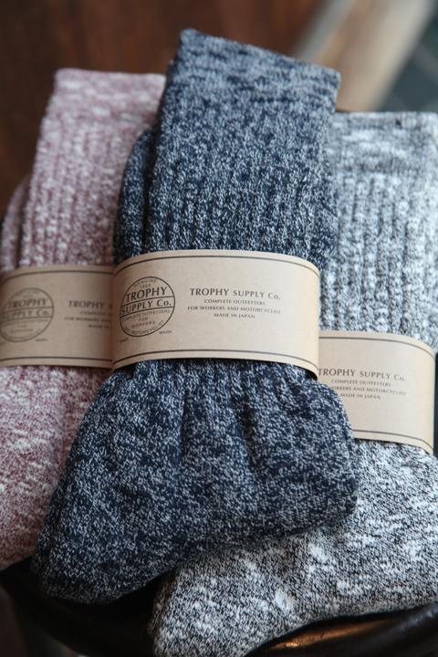 TROPHY CLOTHING/トロフィークロージング  「Slab Boots Socks」  ブーツソックス