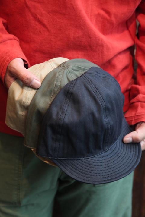 TROPHY CLOTHING/トロフィークロージング 「Mechanic HBT Cap」 メカニックキャップ