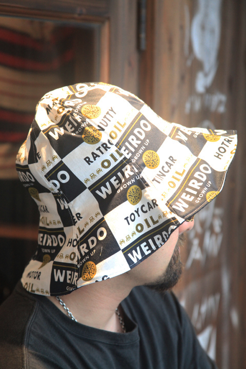 WEIRDO/ウィアード   「WRD CANS - HAT」   リバーシブルハット