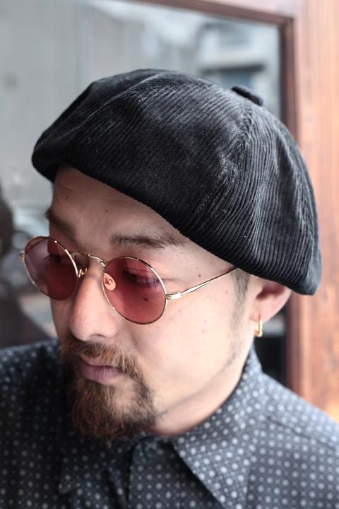 BLACK SIGN/ブラックサイン  「Code CasBeret」  コーデュロイベレー帽