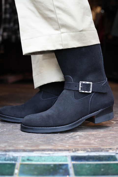 TROPHY CLOTHING/トロフィークロージング  「Rough Out Arrow Engineer Boots」  エンジニアブーツ