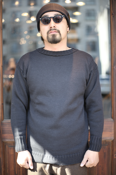 TROPHY CLOTHING/トロフィークロージング  「Guernsey Knit」 フィッシャーマンセーター