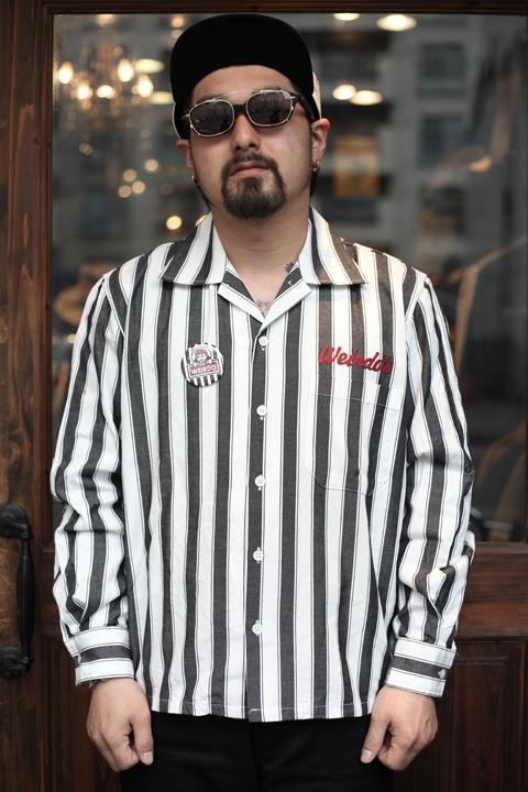 WEIRDO/ウィアード   「WINDY'S - L/S SHIRTS」  オープンカラーシャツ