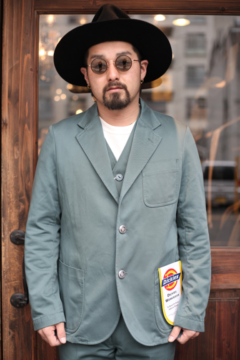 Dickies × The Stylist Japan 「Tailored jacket」 テーラードジャケット