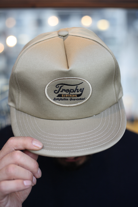 TROPHY CLOTHING/トロフィークロージング  「Trophy Tracker Cap」  トラッカーキャップ