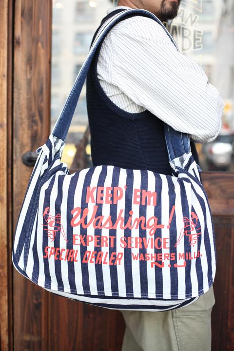 NORTH NO NAME/ノースノーネーム  「LAUNDRY BAG」  ランドリーバッグ