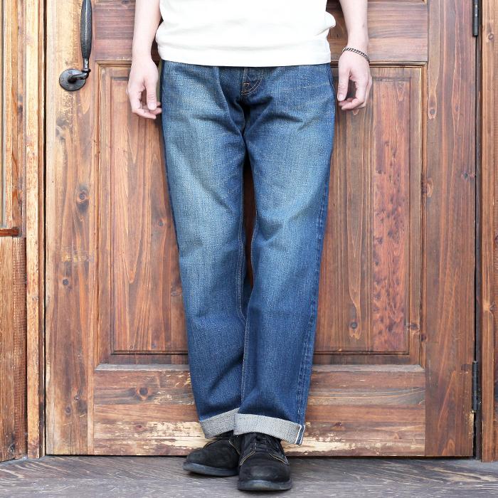 TROPHY CLOTHING/トロフィークロージング  「1605H HERITAGE STANDARD DIRT DENIM」 スタンダードダートダメージデニム