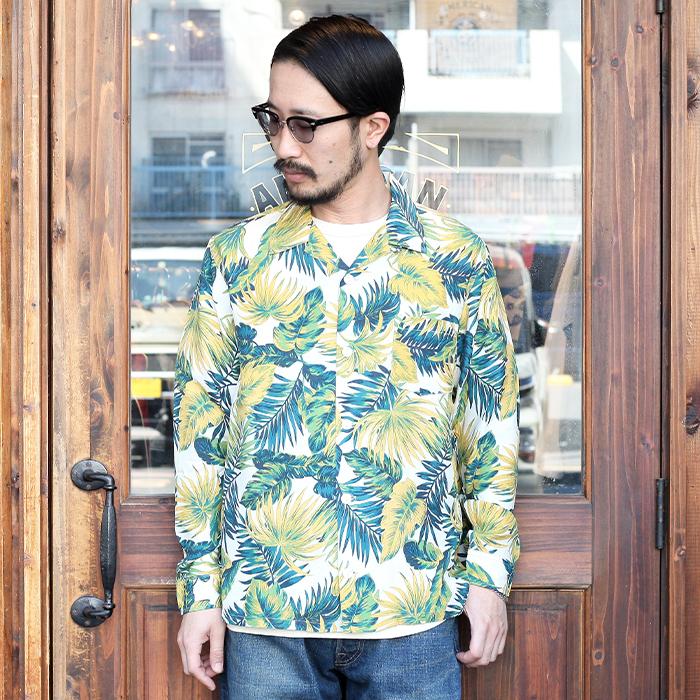 TROPHY CLOTHING/トロフィークロージング 「 DUKE HAWAIIAN L/S SHIRT 」  アロハシャツ