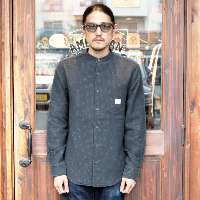 GANGSTERVILLE/ギャングスタービル 「DEAL WITH THE DEVIL - L/S STAND COLLAR SHIRTS」 スタンドカラーL/Sシャツ