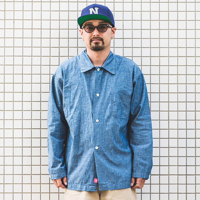 NASTOYS / ナストイズ  「 Chambray Over Shirt 」   シャンブレーオーバーシャツ