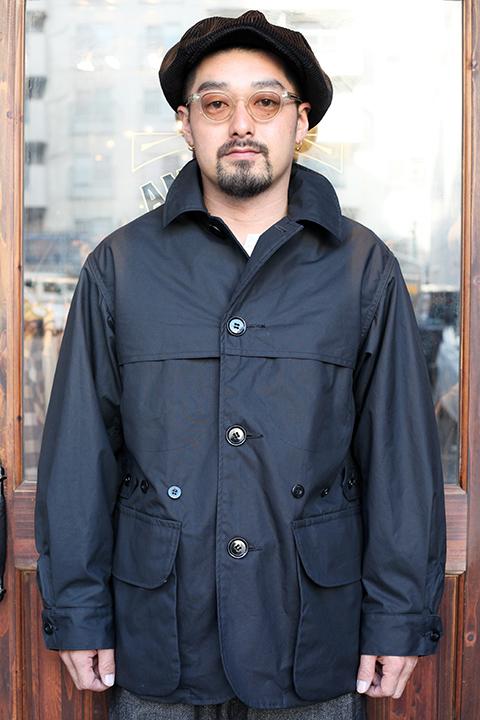 BLACK SIGN/ブラックサイン 「 British Oiled Cotton Hunting Jacket 」 オイルドハンティングジャケット