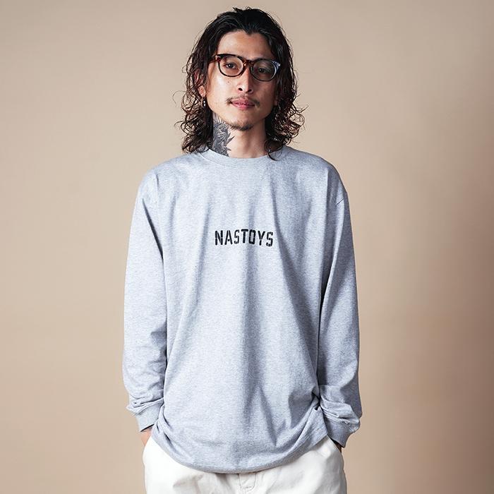 NASTOYS/ナストイズ 「 Glass Mark L/S T-SHIRTS 」 プリントL/S Tシャツ