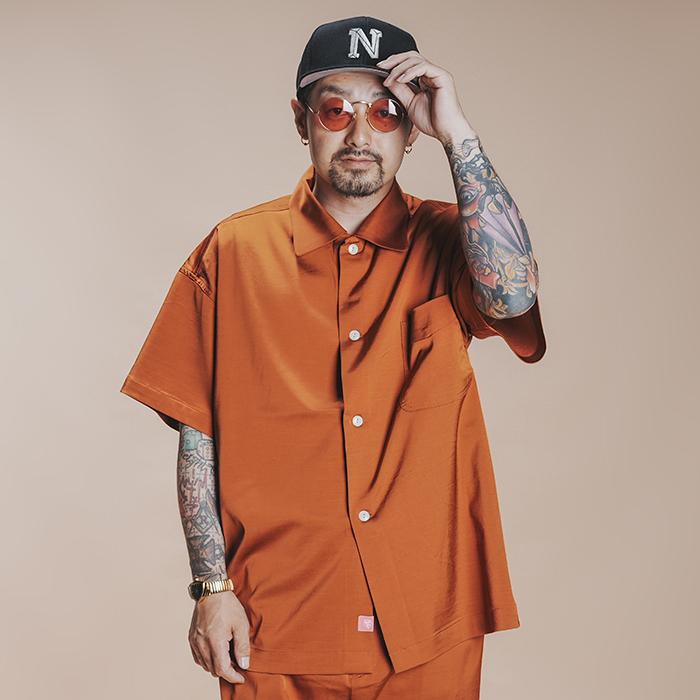 NASTOYS / ナストイズ  「 Short Sleeves Over Shirt 」   半袖オーバーシャツ
