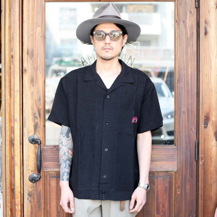 GANGSTERVILLE/ギャングスタービル 「 RISE ABOVE - S/S BOWLING  SHIRTS 」 ボーリングシャツ