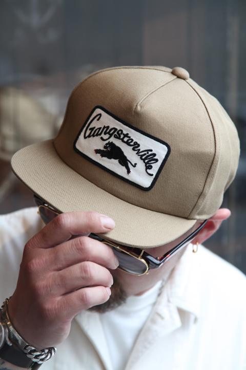 GANGSTERVILLE/ギャングスタービル    「GREASER - CAP」   コットンツイルキャップ