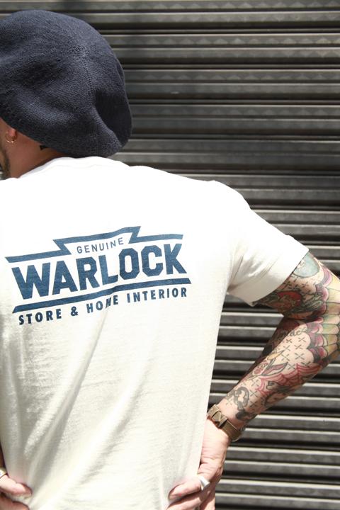 TROPHY CLOTHING/トロフィークロージング  「Warlock Pocket Tee」  プリントティーシャツ