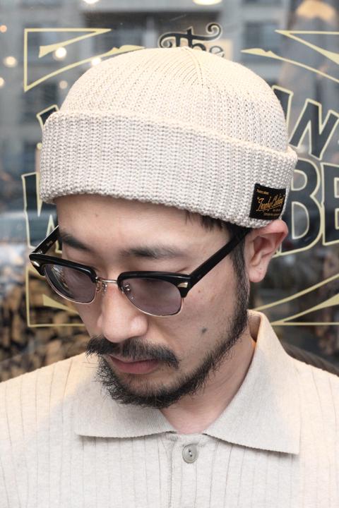 TROPHY CLOTHING/トロフィークロージング  「Whole Garment Knit Cap」 ホールガーメントニットキャップ