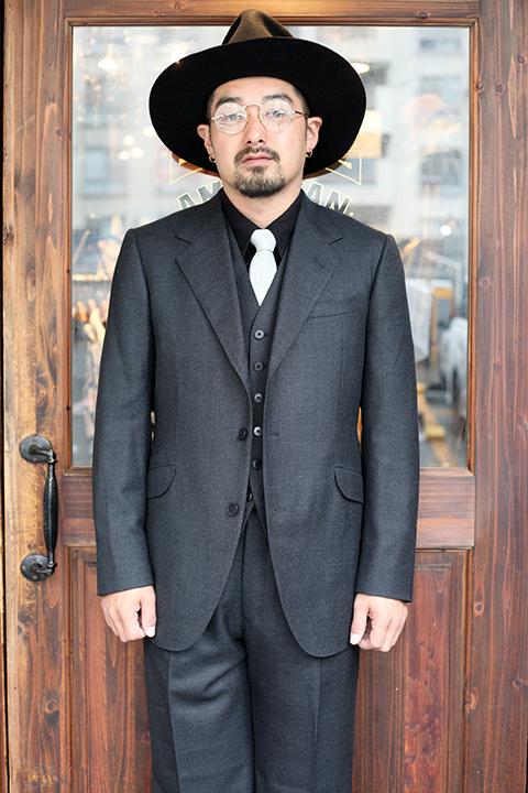 GLAD HAND/グラッドハンド 「 GLAD HAND TAILORED HARRY - SUIT 」 スーツ
