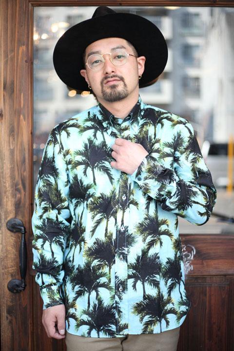 The Stylist Japan/ザスタイリストジャパン 「LINEN Shirts」  総柄リネンシャツ