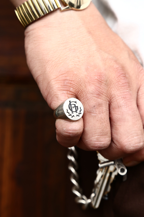 GLAD HAND JEWELRY/グラッドハンドジュエリー  「RING PLAIN」  シルバー925リング