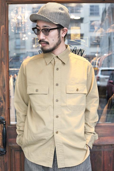 TROPHY CLOTHING/トロフィークロージング 「Signet L/S Shirt」 ワークシャツ