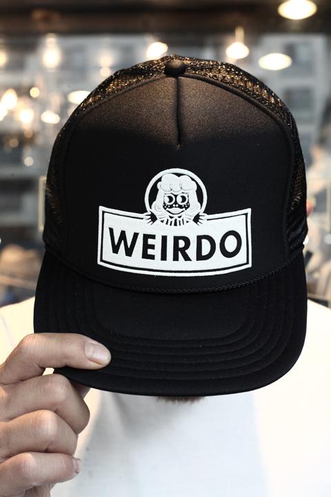 WEIRDO/ウィアード 「WINDY'S - MESH CAP」  メッシュキャップ