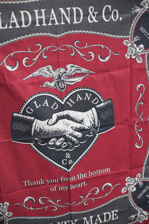 GLAD HAND/グラッドハンド    「GH - SCARF」   スカーフ