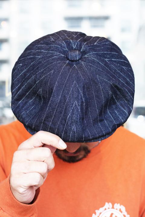 KIJIMA TAKAYUKI × The Stylist Japan  「Indigo Hat 」 インディゴキャスケット