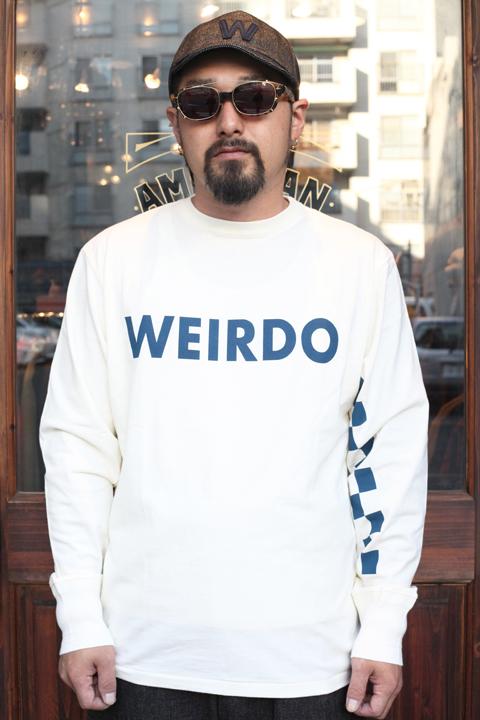 WEIRDO/ウィアード   「BABY PINBACK -  L/S  T-SHIRTS」   L/S ティーシャツ