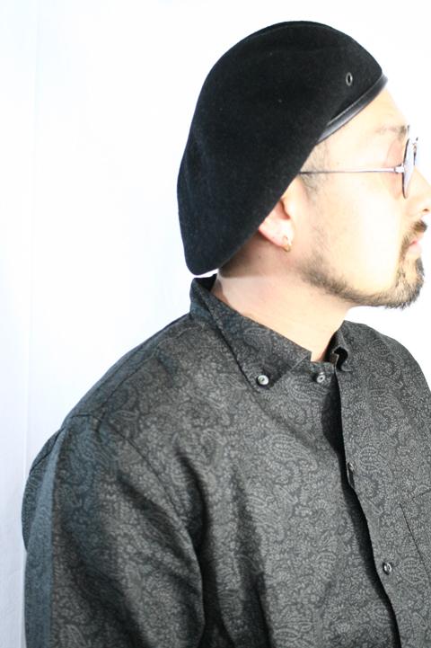 BLACK SIGN/ブラックサイン  「Dual Collar Armour Linen Shirt」 デュアルカラーリネンシャツ