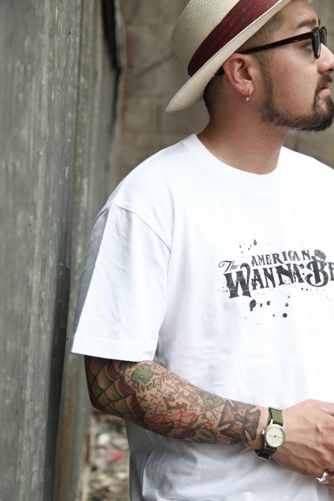 AMERICAN WANNABE/アメリカンワナビー   「AW 6th Anniversary SPECIAL S/S TEE」   アメリカンワナビーロゴTEE
