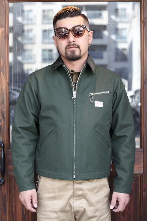 TROPHY CLOTHING/トロフィークロージング  「Grease Monkey Jacket」  グリースモンキージャケット