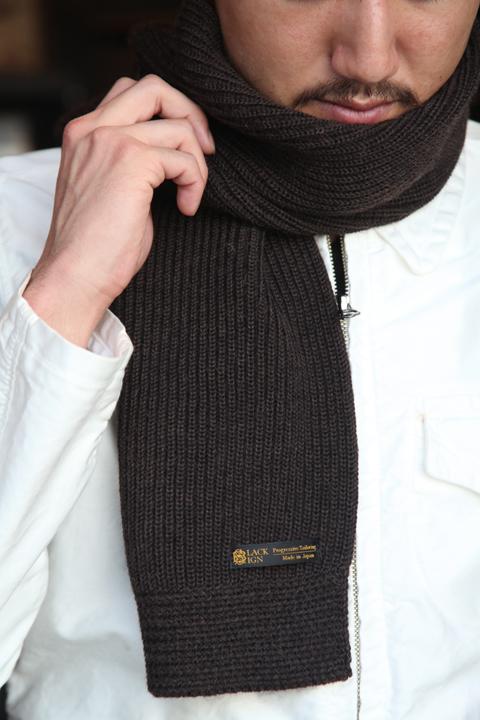 BLACK SIGN/ブラックサイン  「A.R.C Dress Scarf」  ショートタイプ・マフラー