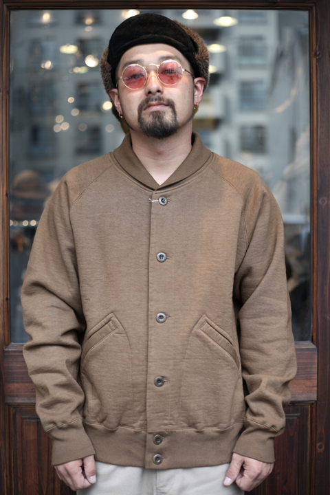 TROPHY CLOTHING/トロフィークロージング  「OD A-1 Sweat」  A-1スウェット