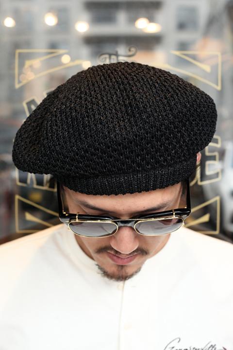 GANGSTERVILLE/ギャングスタービル    「THUG - BERET」   ベレー帽
