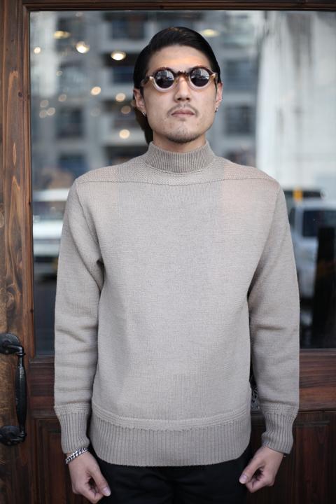 BLACK SIGN/ブラックサイン  「Civilian Pull Over Hi Neck Sweater」  ニットセーター