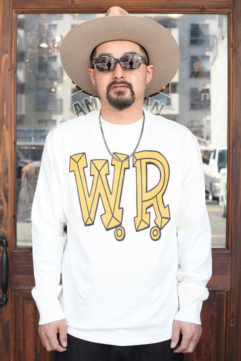 WEIRDO/ウィアード   「BIG W.R. -  L/S  T-SHIRTS」   L/S ティーシャツ