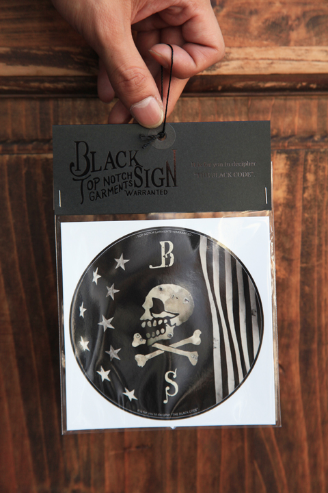 BLACK SIGN/ブラックサイン  「BS Sticker」  ステッカーセット