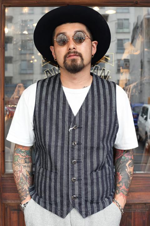 The Stylist Japan/ザスタイリストジャパン   「KAIHARA Denim Vest」   デニムベスト