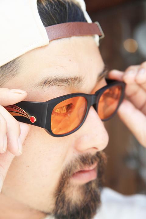 "GROOVER/グルーバー   「""Sedona""×American Wannabe 」  別注アセテート眼鏡"