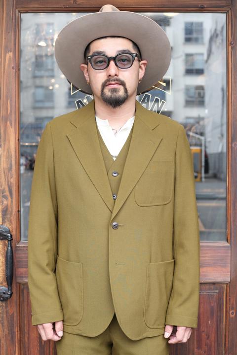 The Stylist Japan/ザスタイリストジャパン 「2WAY JACKET」 ポリエステルウールテーラードジャケット