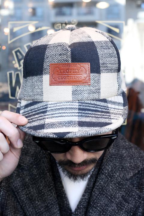 TROPHY CLOTHING/トロフィークロージング  「Buffalo Logger Cap」  バッファローチェックキャップ