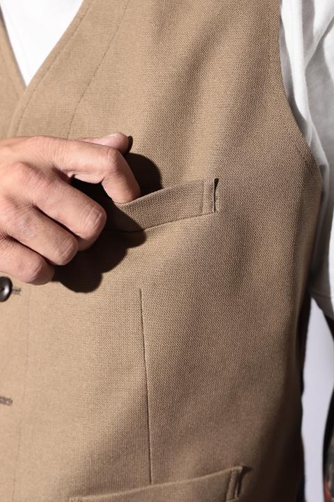 The Stylist Japan/ザスタイリストジャパン   「 NEW HopSack (Stretch Fabric) 」   ホップサックベスト