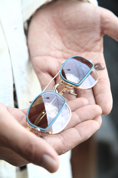 GROOVER/グルーバー    「LOT.492」    フリップアップ眼鏡